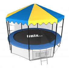 Батут UNIX 12 ft inside с крышей
