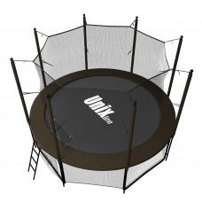 Батут UNIX 8 ft Black&Brown (inside)