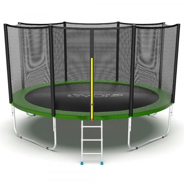 Батут EVO JUMP External 12ft зеленый