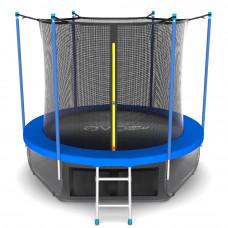 Батут EVO JUMP Internal 8ft (Sky) синий + нижняя сетка