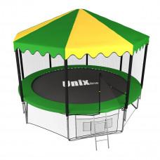 Батут UNIX 12 ft outside с крышей