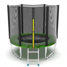 Батут EVO Jump External 6ft, (зеленый)