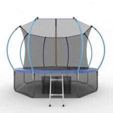 Батут EVO JUMP Internal 12ft синего цвета + нижняя сетка