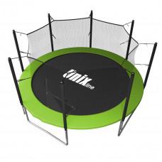 Батут UNIX Simple 12 ft зеленый (inside)