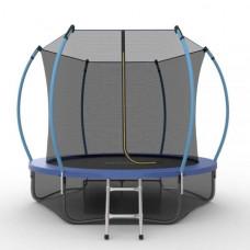 Батут EVO JUMP Internal 8ft синего цвета и нижняя сетка