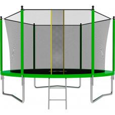 Батут SWOLLEN Lite 10 футов зеленого цвета