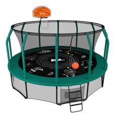 Батут UNIX Supreme 14 ft + Basketball