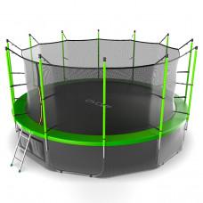 Батут EVO JUMP Internal 16ft зеленый + нижняя сетка