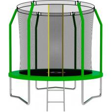 Батут SWOLLEN Comfort 8 футов зеленого цвета