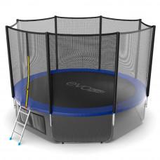 Батут EVO JUMP External 12ft + нижняя сетка