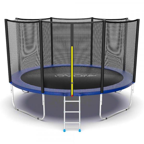 Батут EVO JUMP External 12ft синего цвета