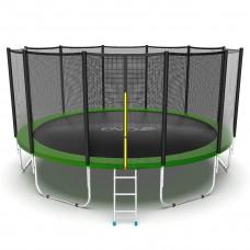 Батут EVO JUMP External 16ft (зеленый)