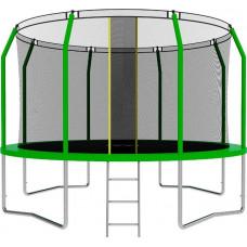 Батут SWOLLEN Comfort 12 футов зеленого цвета