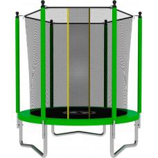 Батут SWOLLEN Lite 6 футов зеленого цвета
