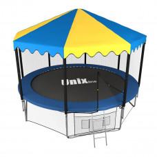 Батут UNIX 10 ft outside с крышей